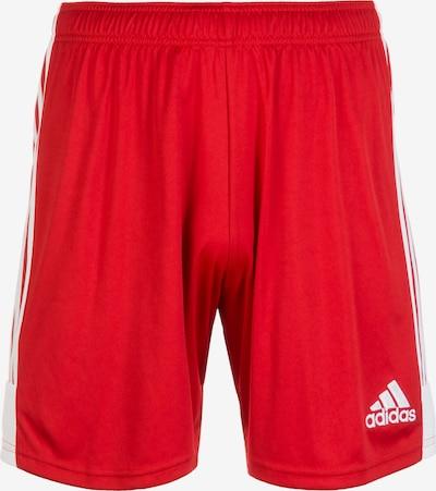 ADIDAS PERFORMANCE Shorts in rot / weiß, Produktansicht