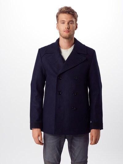 G-Star RAW Mantel 'Traction wool peacoat' in dunkelblau, Modelansicht