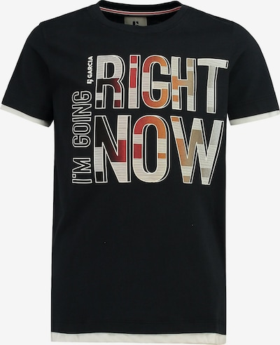 GARCIA T-Shirt in mischfarben / schwarz, Produktansicht