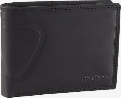 STRELLSON Geldbörse 'Baker Street' in schwarz, Produktansicht