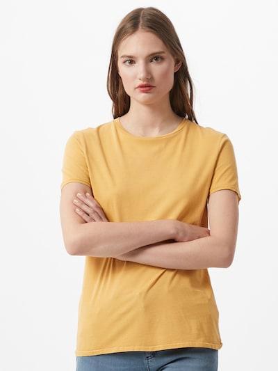 AMERICAN VINTAGE Tričko 'Vegiflower' - žlutá: Pohled zepředu