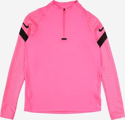 NIKE Sportsweatshirt 'Strike' in pink / rosa / schwarz, Produktansicht