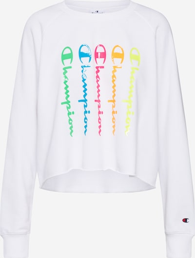 Champion Authentic Athletic Apparel Sweatshirt i blandingsfarvet / hvid, Produktvisning