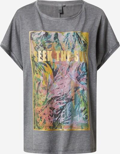 Q/S designed by Shirt in grau / mischfarben, Produktansicht