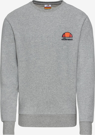 ELLESSE Sweat-shirt 'DIVERIA' en gris chiné, Vue avec produit