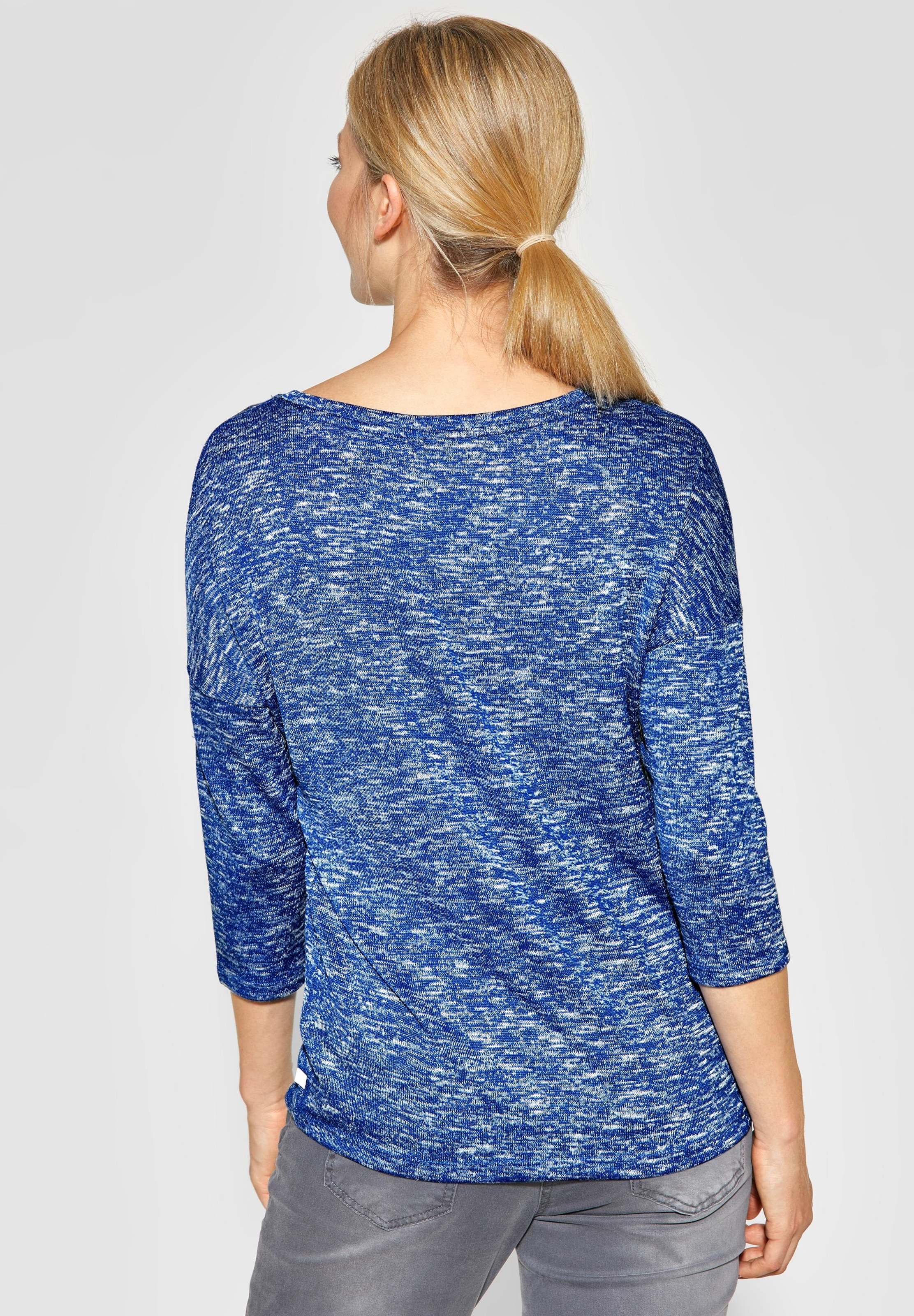 Cecil Cecil Shirt Blaumeliert In In Cecil In Blaumeliert Shirt Shirt Blaumeliert WYED2H9I