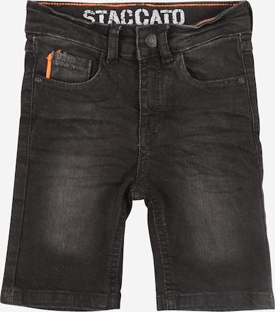 STACCATO Shorts in black denim, Produktansicht