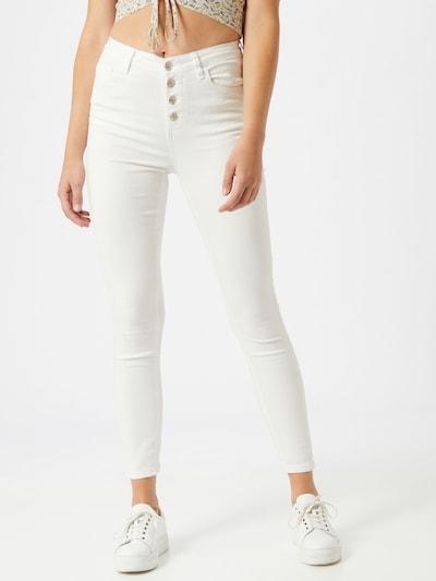 Hailys Jeans 'Romina' in white denim, Modelansicht