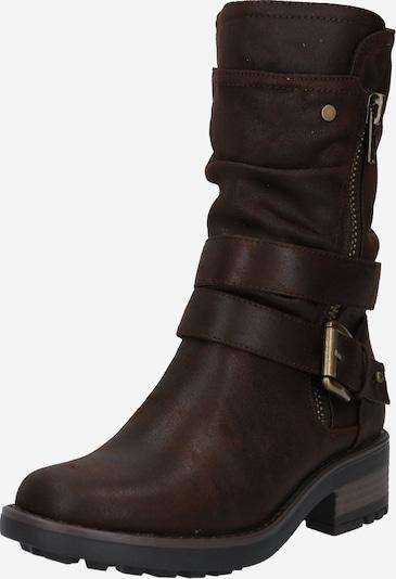 BULLBOXER Stiefel 'Boot' in dunkelbraun, Produktansicht