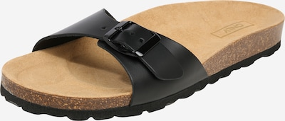 ONLY Slipper 'ONLMADISON NARROW LEATHER SLIP ON' in schwarz, Produktansicht