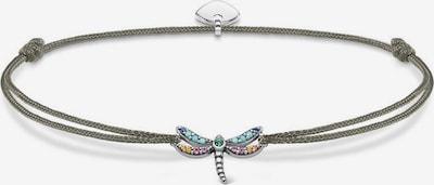 Thomas Sabo Armband 'Little Secret Libelle, LS073-298-7-L20v' in greige / mischfarben / silber, Produktansicht