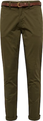 JACK & JONES Chino 'JJICODY JJSPENCER WW OLIVE NIGHT NOOS'