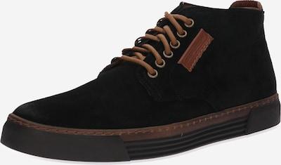 CAMEL ACTIVE Sneaker 'Racket' in braun / schwarz: Frontalansicht