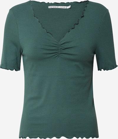 CATWALK JUNKIE Koszulka 'Bella' w kolorze khakim, Podgląd produktu