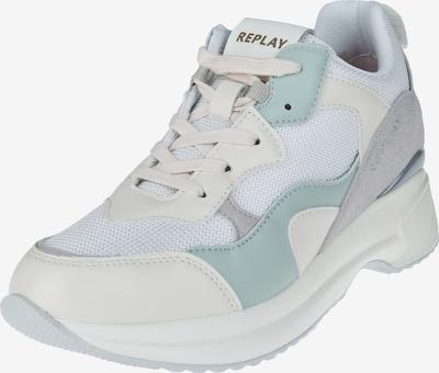 REPLAY Sneaker 'Theme' in hellblau / grau / weiß, Produktansicht