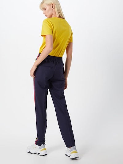 DRYKORN Pantalon 'BLANKED_2' in de kleur Navy: Achteraanzicht