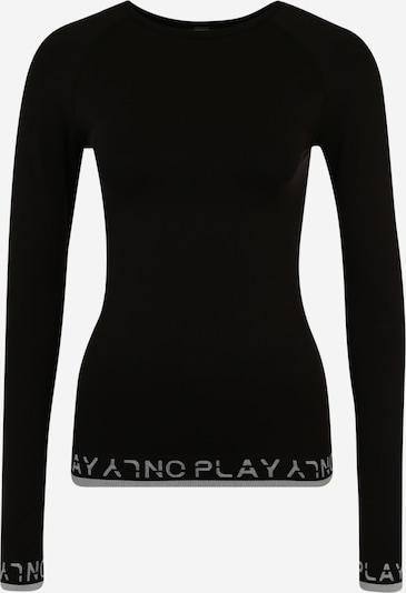 Tricou funcțional 'PERFORMANCE' ONLY PLAY pe negru / alb, Vizualizare produs
