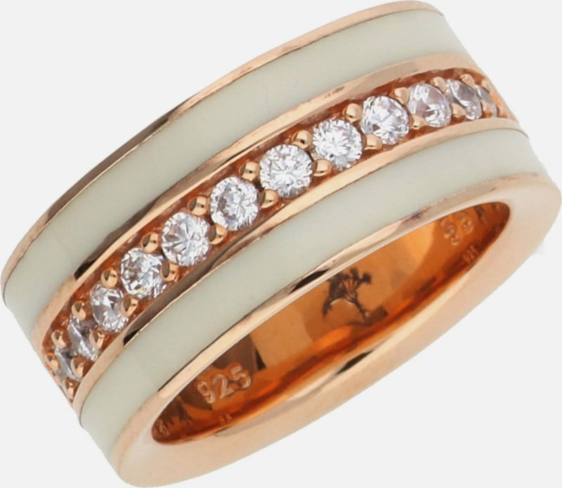 Joop! Fingerring Silber Weiss Jessica Jprg90652c