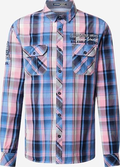 CAMP DAVID Košile - kobaltová modř / světlemodrá / růžová, Produkt