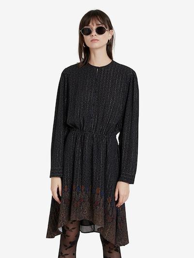 Desigual Kleid 'DELHI' in beige / blau / rostrot / schwarz, Modelansicht