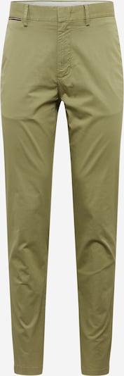 TOMMY HILFIGER Pantalon 'DENTON CHINO SUMMER TWILL FLEX' en olive, Vue avec produit