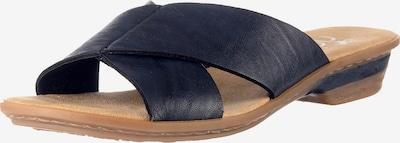 RIEKER Muiltjes in de kleur Donkerblauw, Productweergave