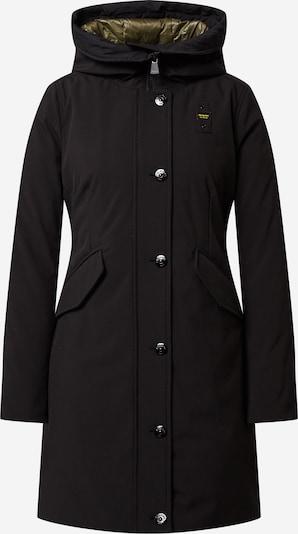 Blauer.USA Manteau d'hiver en noir, Vue avec produit