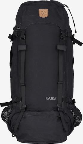 Fjällräven Rucksack 'Kajka' 85 l 78 cm in Schwarz