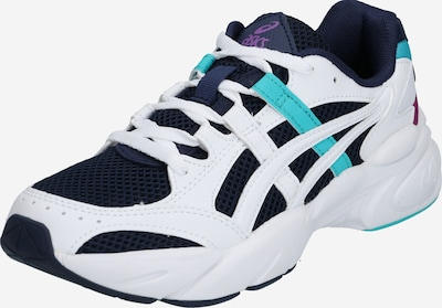 ASICS SportStyle Sneakers laag 'Bondi' in de kleur Turquoise / Donkerblauw / Wit, Productweergave