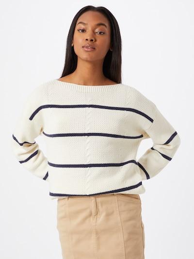 VILA Pullover 'SUNSET' in blau / weiß, Modelansicht