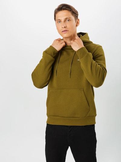 CONVERSE Sweat-shirt en vert foncé: Vue de face