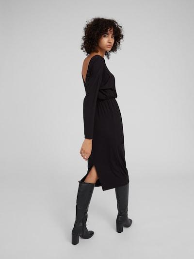 EDITED Kleid 'Destine' in schwarz: Rückansicht