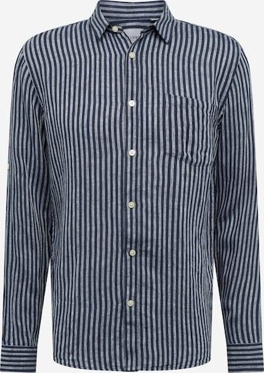 Only & Sons Koszula 'LUKE' w kolorze ciemny niebieski / białym: Widok z przodu