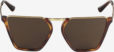 McQ Alexander McQueen Sonnenbrille 'MQ0162S-002 57' in hellbraun / gold, Produktansicht
