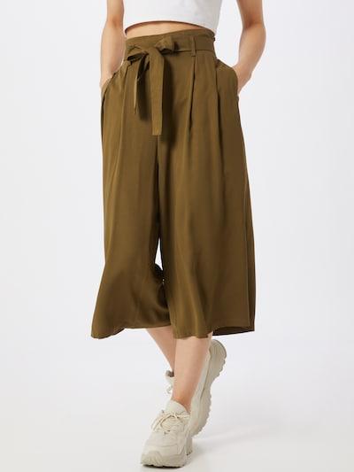 VILA Weite Hose in oliv, Modelansicht