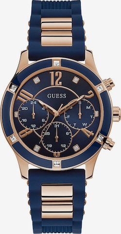 GUESS Analog Watch 'Breeze, W1234L4' in Blue