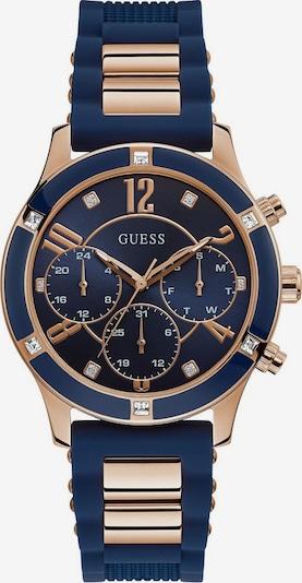 GUESS Uhr 'Breeze, W1234L4' in blau / rosegold, Produktansicht