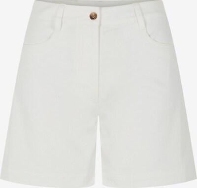 J.Lindeberg Brianna Cotton Twill Shorts in weiß, Produktansicht