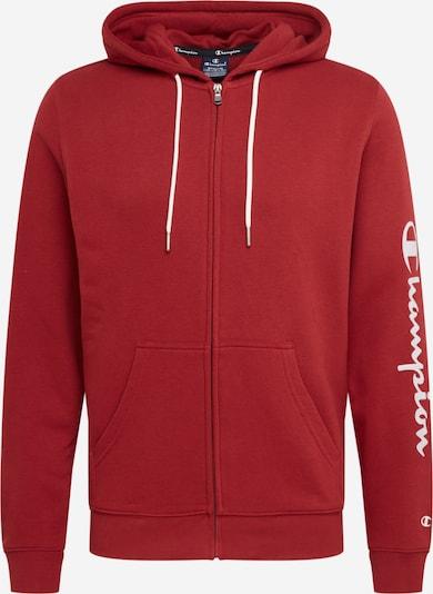 Champion Authentic Athletic Apparel Tepláková bunda - vínovo červená / biela, Produkt
