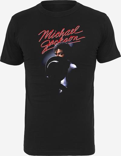 Merchcode T-shirt 'Michael Jackson' i röd / svart / vit, Produktvy