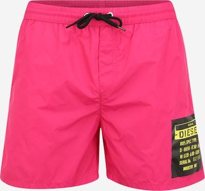 DIESEL Plavecké šortky 'Bmbx-Wave' - ružová: Pohľad spredu
