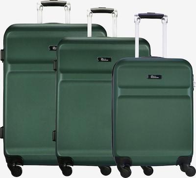 FABRIZIO Kofferset 'Wings' in de kleur Groen, Productweergave
