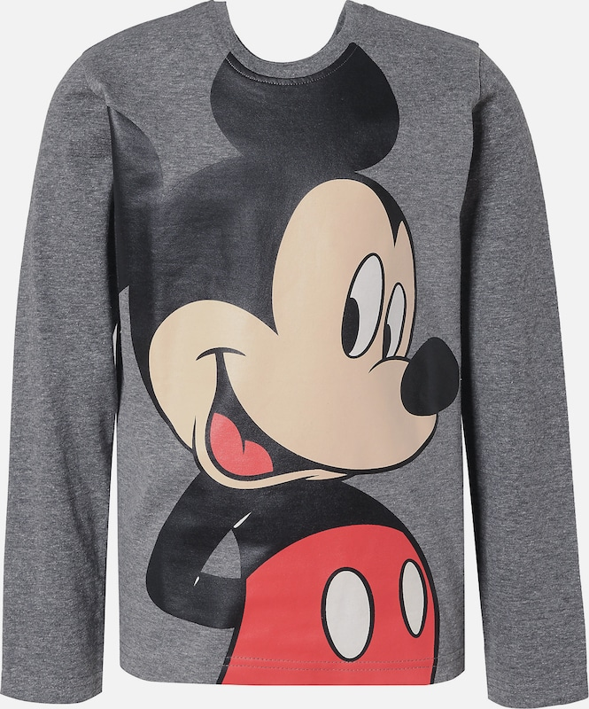 DISNEY Shirt 'Mickey Mouse & friends' in grau / mischfarben, Produktansicht