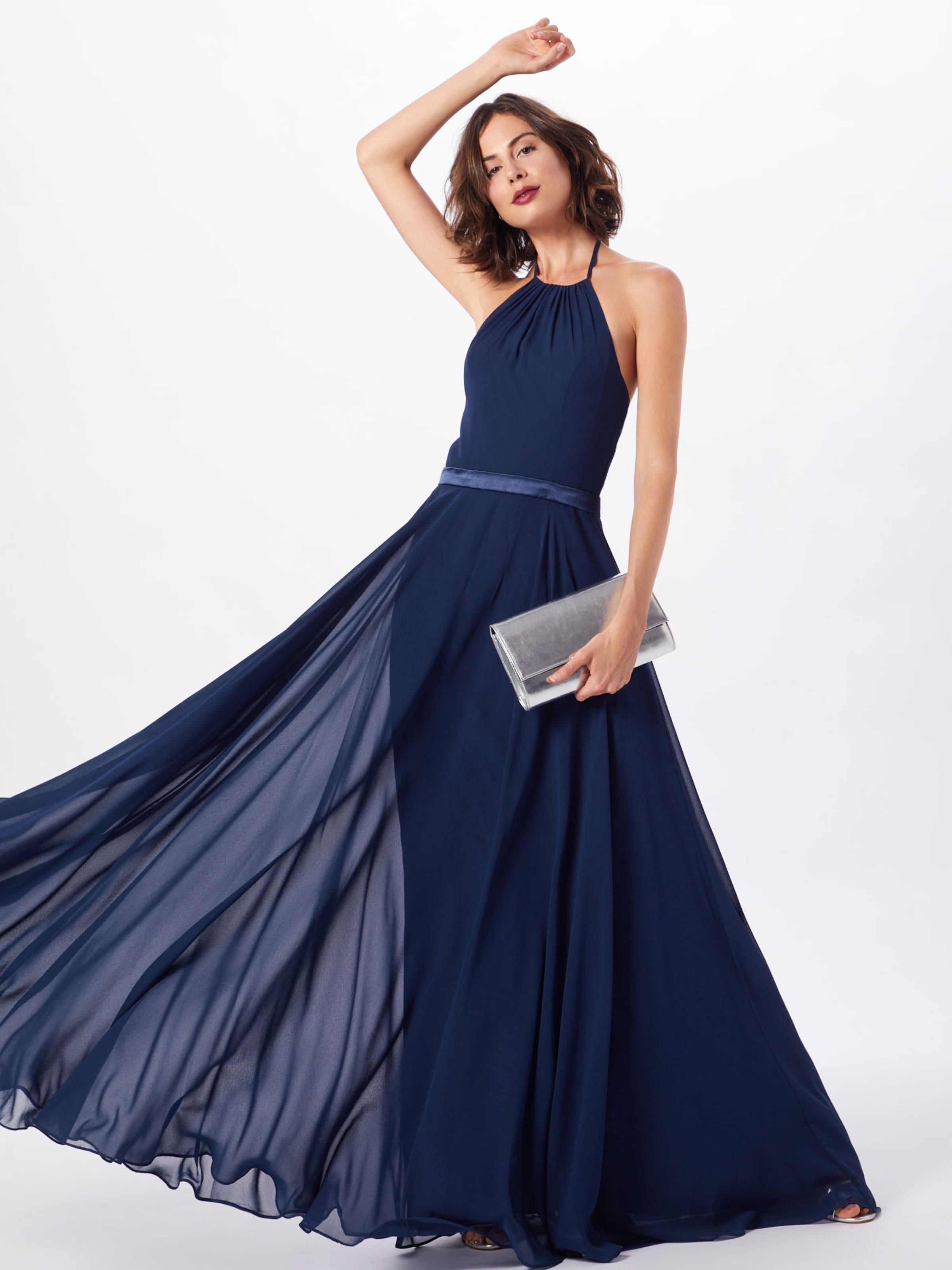 Soirée Foncé Bleu Laona De En Robe vmnwNO08