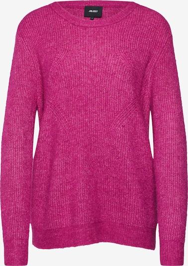 Megztinis iš OBJECT , spalva - rožinė: Vaizdas iš priekio