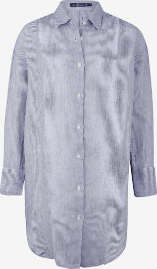 BLAUMAX Kleid 'Marylou' in navy / weiß, Produktansicht