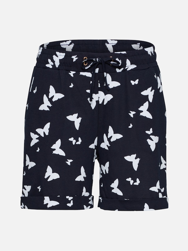 street one shorts in navy wei about you. Black Bedroom Furniture Sets. Home Design Ideas