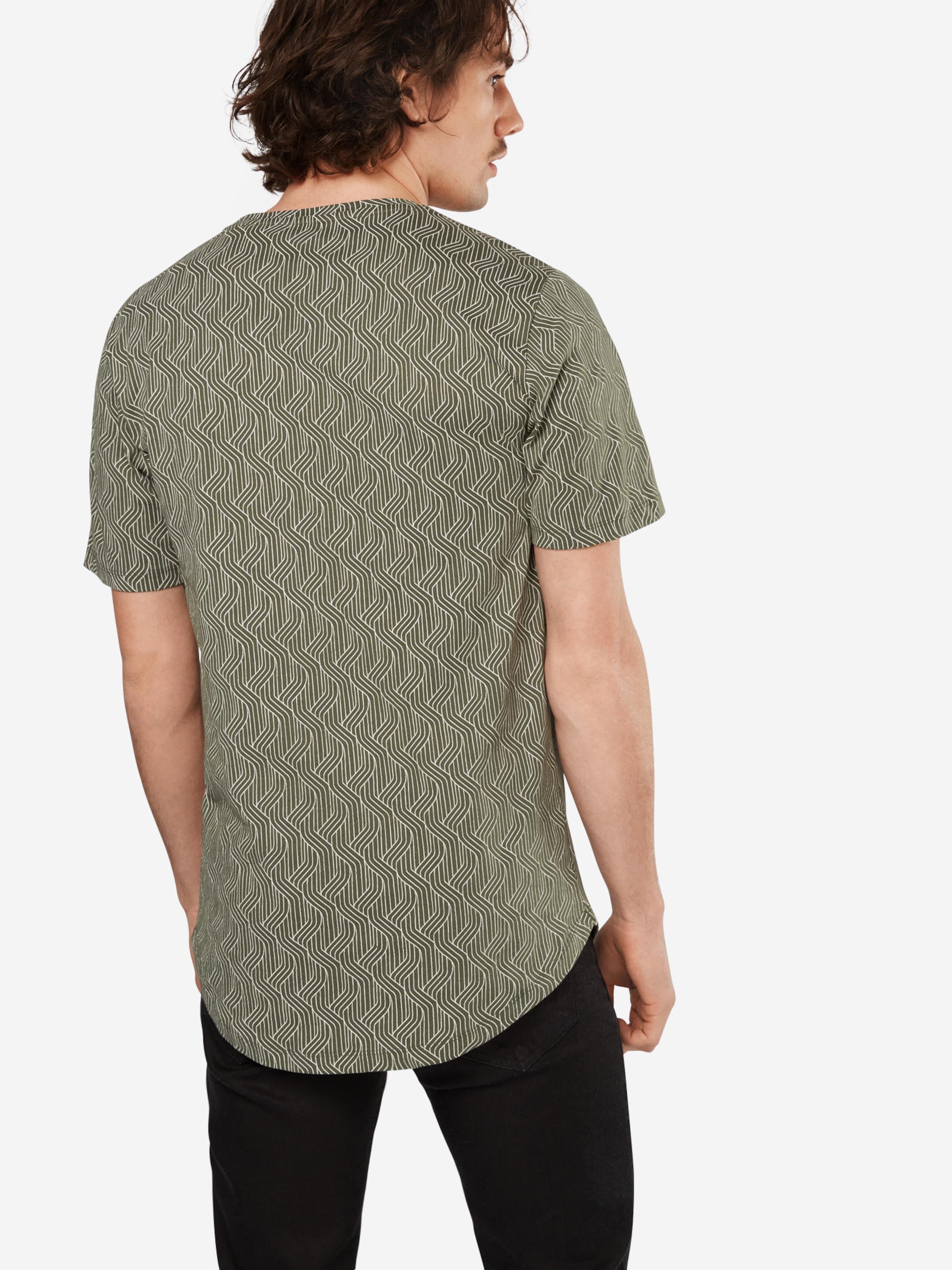 Only & Sons T-Shirt 'onsBRUCE SS LONGY TEE' Auslass Günstigsten Preis Freies Verschiffen Aus Deutschland WCBiuf