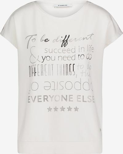 Public Sweatshirt mit Placement in weiß, Produktansicht