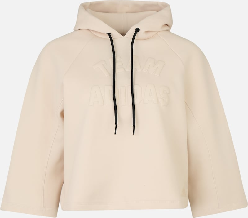 ADIDAS PERFORMANCE Sportief sweatshirt in de kleur Beige, Productweergave